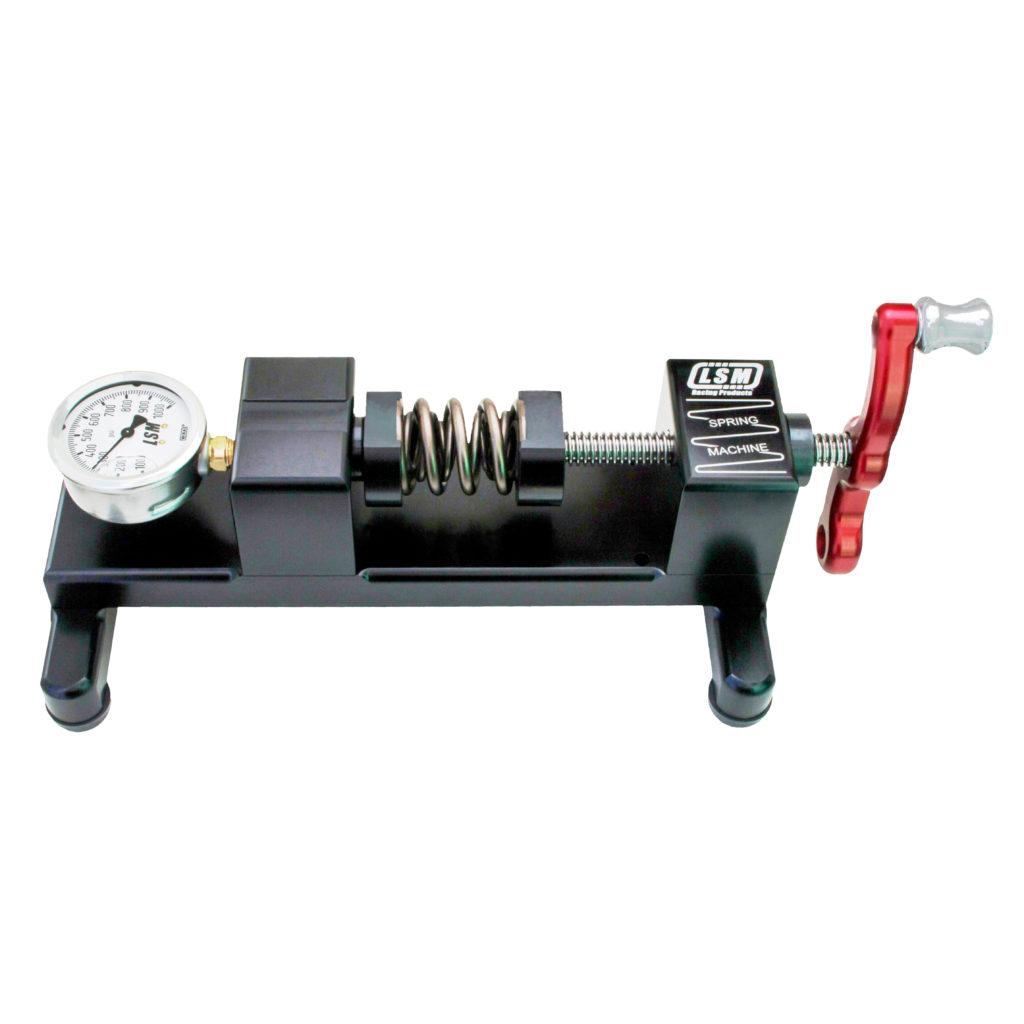 LSM Bench Top Valve Spring Pressure Tester