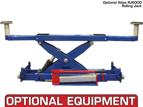 Capacity Commercial Grade 4 Post Lift Atlas 412 12,000 Lbs