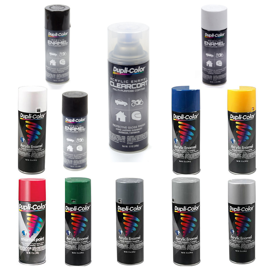 Acrylic Enamel Paint >> Dupli Color Acrylic Enamel Multiple Colors Race Tools Direct