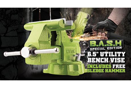 Fine Wilton B A S H Special Edition 6 5 Utility Bench Vise And 4 Lb Sledge Hammer Combo Race Tools Direct Andrewgaddart Wooden Chair Designs For Living Room Andrewgaddartcom
